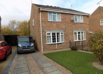 Thumbnail 2 bedroom semi-detached house to rent in Milburn Grove, Bingham, Nottingham