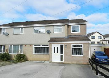 Thumbnail 5 bed semi-detached house for sale in Ffordd Yr Afon, Bridgend