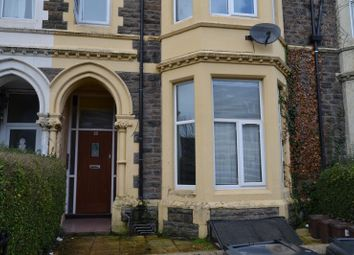 Thumbnail 1 bedroom flat to rent in 23, Glynrhondda Street Tfr, Cathays, Caridff, South Wales