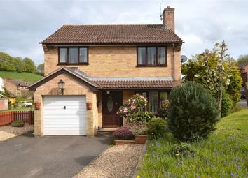 Thumbnail 4 bed detached house for sale in Western Lea, Crediton, Devon