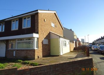 Thumbnail 3 bedroom semi-detached house for sale in Silverdale Drive, Wolverhampton