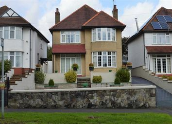 Thumbnail 3 bed detached house for sale in Derwen Fawr Road, Swansea