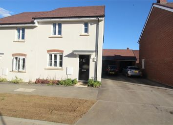 Thumbnail 3 bed semi-detached house for sale in Laputa Way, Newton Leys, Milton Keynes