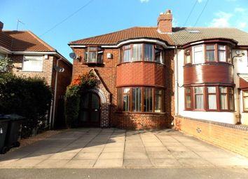 Thumbnail 3 bed semi-detached house for sale in Audley Road, Stechford, Birmingham