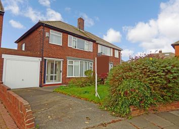 Thumbnail 3 bed semi-detached house for sale in Neasdon Crescent, North Shields