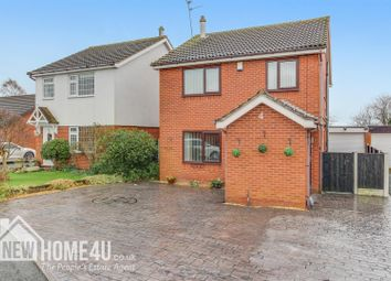 Thumbnail 4 bed detached house for sale in Kent Close, Penymynydd, Chester