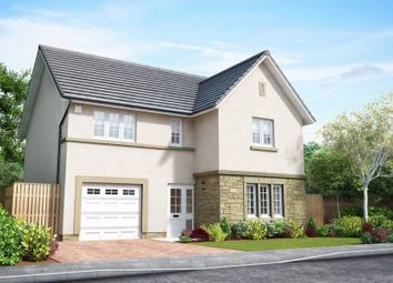 "Thumbnail 4 bedroom detached house for sale in ""The Barrie"" at Wilkieston Road, Ratho, Newbridge"