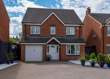 Thumbnail 4 bedroom detached house for sale in Woodlands, Grange Park, Northampton