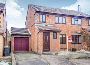 Thumbnail 3 bedroom semi-detached house for sale in Barkus Close, Southam