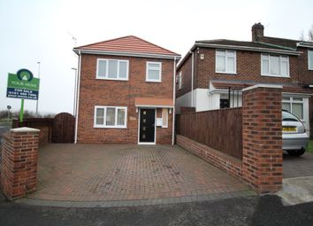 Thumbnail 3 bed detached house for sale in Oakfield Road, Lobley Hill, Gateshead