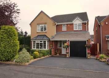 Thumbnail 4 bed detached house for sale in Sophia Way, Newcastle