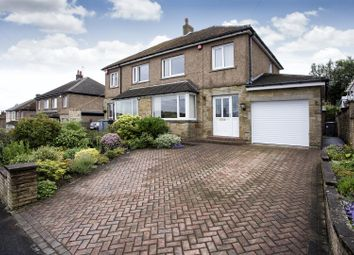 Thumbnail 3 bed semi-detached house for sale in Briarlyn Road, Lindley, Huddersfield