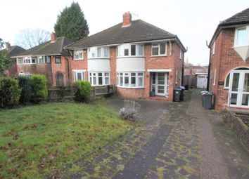 Thumbnail 3 bed semi-detached house to rent in Lodge Hill Road, Selly Oak, Birmingham