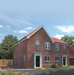 Thumbnail 2 bed semi-detached house for sale in Plot 31, Springfield Grange, Acle