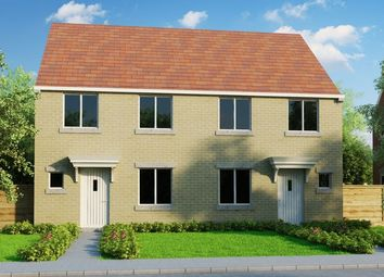 Thumbnail 3 bed semi-detached house for sale in Salwarpe, Droitwich