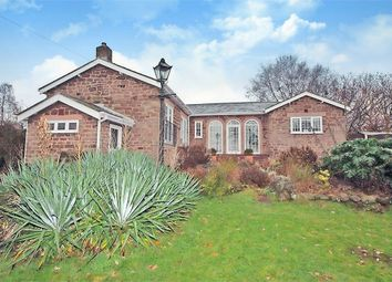 Thumbnail 3 bed detached bungalow for sale in Wood Lane, Sutton Weaver, Runcorn, Cheshire