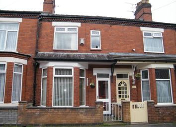 Thumbnail 3 bed terraced house for sale in Richard Street, Crewe, Cheshire