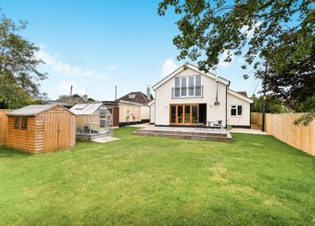 Thumbnail 5 bed detached house for sale in The Street, Cherhill, Calne