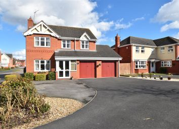 Thumbnail 4 bed detached house for sale in Swan Drive, Droitwich