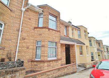 Thumbnail 3 bed terraced house for sale in Warleigh Avenue, Plymouth