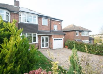Thumbnail 4 bed semi-detached house for sale in Eskdale Gardens, Purley