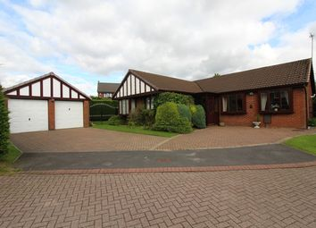 Thumbnail 3 bed bungalow for sale in Castlebrook Close, Unsworth, Bury