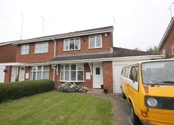 Thumbnail 3 bed semi-detached house for sale in Fairmile Close, Binley, Coventry
