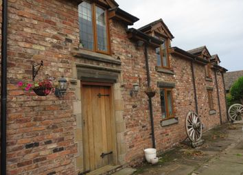 Thumbnail 1 bed barn conversion to rent in Dicklow Cob, Lower Withington, Macclesfield