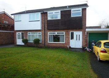Thumbnail 2 bed semi-detached house to rent in Francis Close, Penkridge