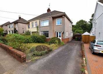 Thumbnail 3 bed semi-detached house for sale in Heol Erwin, Rhiwbina, Cardiff.