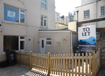Thumbnail 1 bedroom flat to rent in Fortescue Road, Ilfracombe