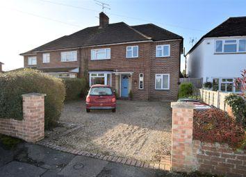 Thumbnail 4 bed semi-detached house for sale in Crescent Road, Tilehurst, Reading