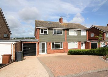 Thumbnail 4 bed semi-detached house for sale in Garden Close, Exeter