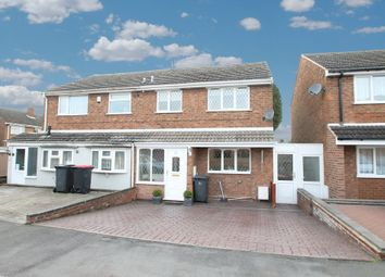 Thumbnail 4 bedroom semi-detached house for sale in Birch Grove, Birchmoor, Tamworth