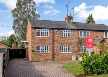 Thumbnail 3 bed semi-detached house for sale in Kings Lane, Windlesham, Surrey