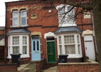 Thumbnail 4 bed terraced house to rent in St. Leonards Road, Stoneygate, Leicester
