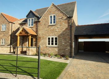 Thumbnail 3 bed link-detached house for sale in Oakfield Road, Skellingthorpe, Lincoln