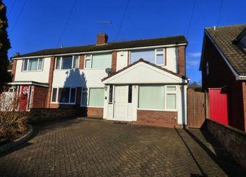 Thumbnail Semi-detached house for sale in Sambar Road, Fazeley, Tamworth, Staffordshire