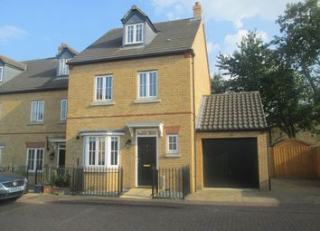 Thumbnail 4 bed town house to rent in Greens Close, Sandy