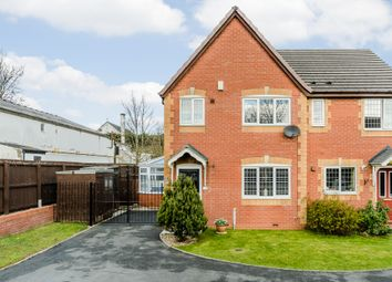 Thumbnail 3 bed semi-detached house for sale in Martholme Close, Blackburn