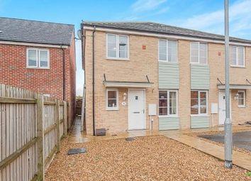 Thumbnail 1 bedroom end terrace house for sale in Jupiter Avenue, Cardea, Peterborough, Cambridgeshire