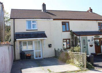 Thumbnail 2 bed end terrace house for sale in The Lawn, St. Blazey, Par