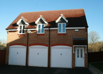 Thumbnail 1 bed detached house for sale in Brindley Close, Stoney Stanton, Leicester