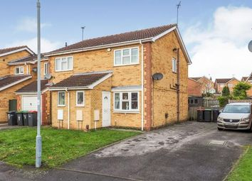 Thumbnail 2 bed semi-detached house for sale in Minster Close, Hucknall, Nottingham, Nottinghamshire