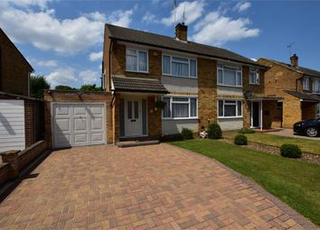 Thumbnail 3 bed semi-detached house for sale in Hare Crescent, Watford, Hertfordshire