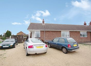 Thumbnail 3 bed semi-detached bungalow for sale in Town Drove Quadring Fen, Spalding, Lincolnshire