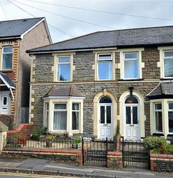Thumbnail 3 bed end terrace house for sale in The Highway, New Inn, Pontypool