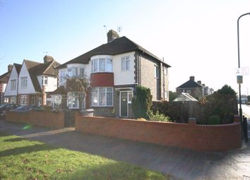Thumbnail 3 bed semi-detached house to rent in Carlton Avenue East, Wembley