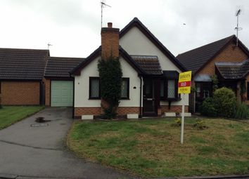 Thumbnail 2 bed bungalow to rent in Milverton Close, Wigston