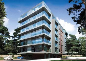 Thumbnail 1 bedroom flat for sale in Woodland Mount, Wootton Mount, Bournemouth